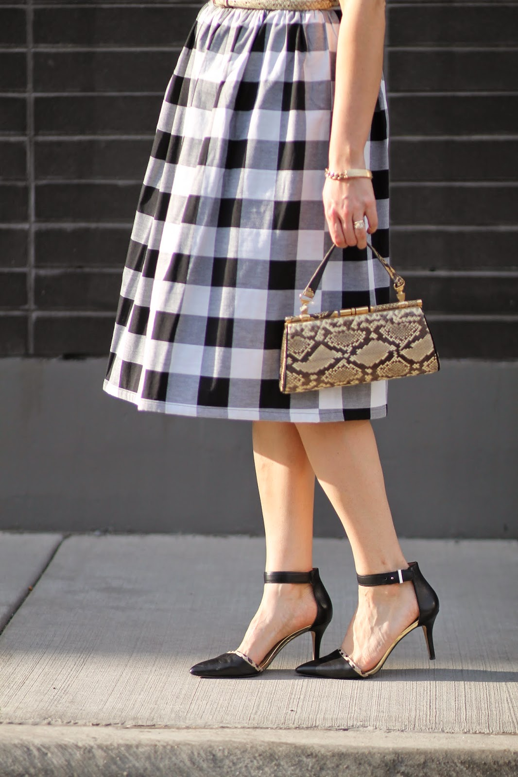 gingham, dress, asos