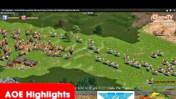 AOE Highlights - Thảm sát kinh hoàng của Tiểu Bạch Long và Gunny vào R tuyển Assyrian của Mỹ Đình