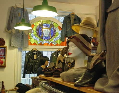 Vintage shopping London