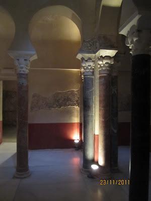 imagen interior baños califales