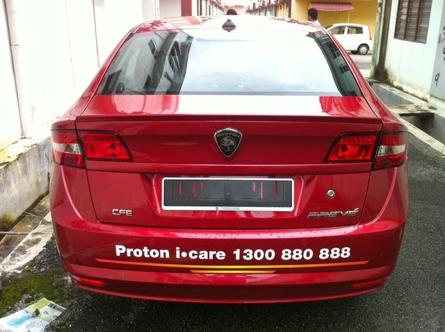 Pelancaran_Proton_Preve