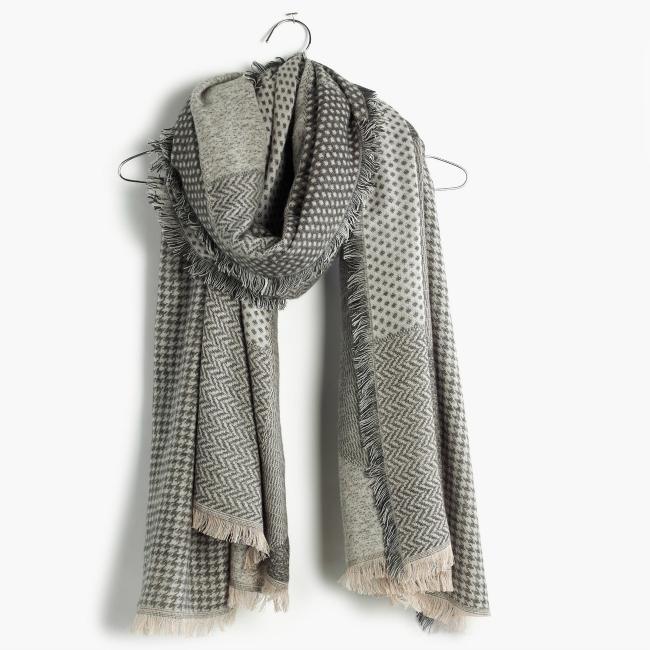 fringe scarf, blanket scarf, oversized scarf