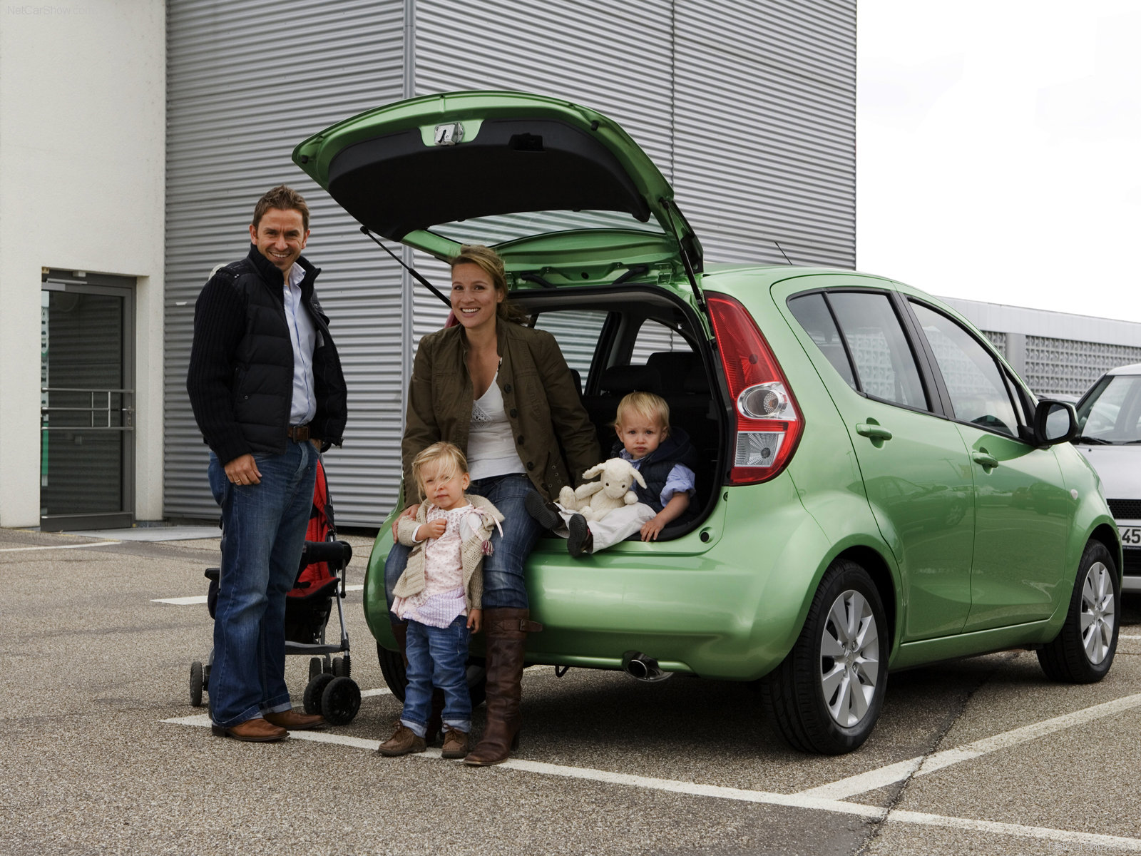 Hình ảnh xe ô tô Suzuki Splash 2008 & nội ngoại thất