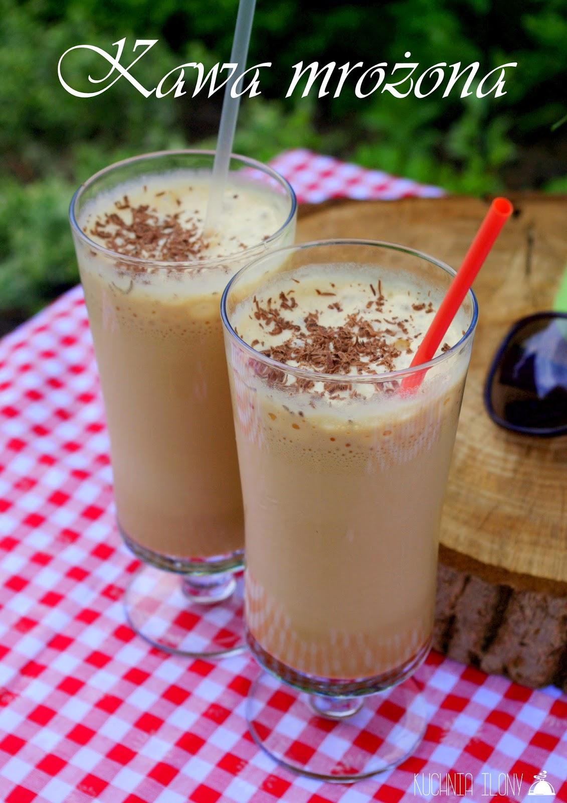 kawa mrożona, napoje chłodzące, napoje na upały, kawa, herbata, czekolada