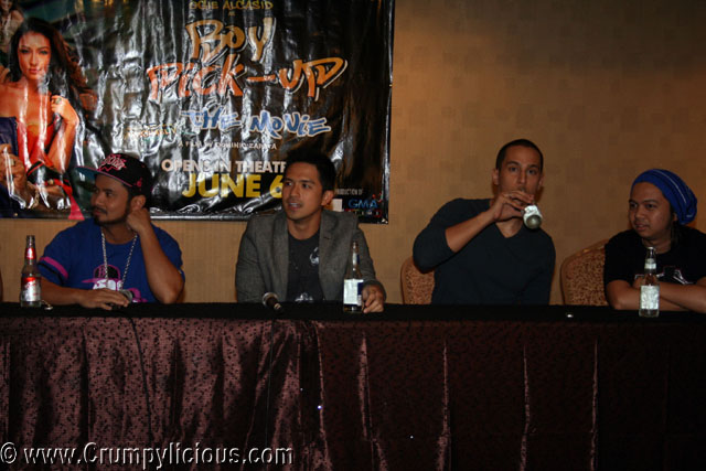 Ogie Alcacid, Dennis Trillo, Eri Neeman and Roadfill