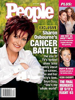 Sharon Osbourne Magazine Cover Pictures