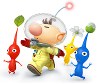 super smash bros for 3ds and super smash bros for wii u concept art 5 Super Smash Bros. for Nintendo 3DS and Wii U (3DS/WU)   Captain Olimar/Pikmin Concept Art & Screenshots