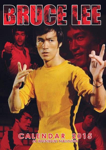 Calendario 2015 Bruce Lee