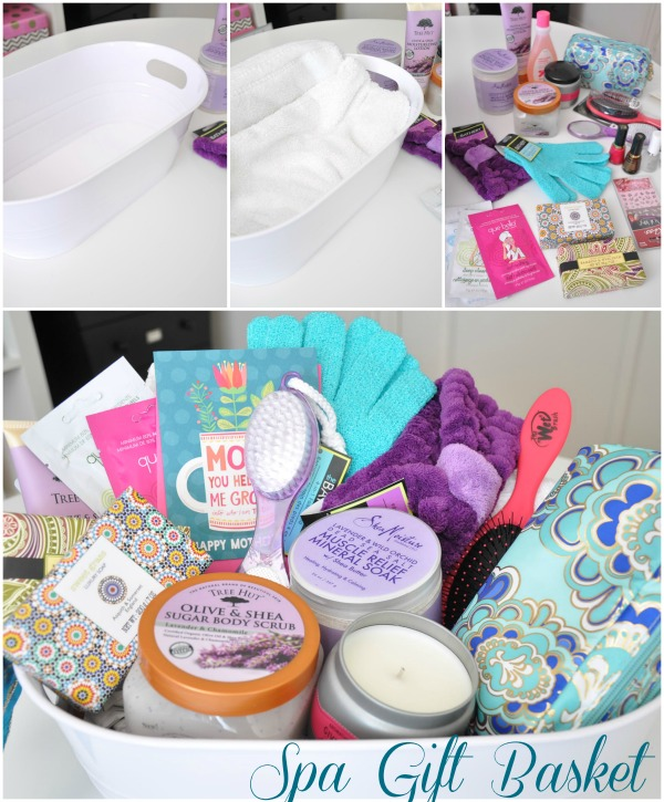 Mothers day gift idea spa basket honey were home bloglovin i think its much better to choose the items yourself as opposed to buying a pre made set it seems like those sets inevitably contain unnecessary items and solutioingenieria Choice Image