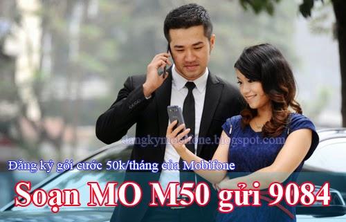 Hướng dẫn đăng ký gói cước 3G 50k/tháng của Mobifone