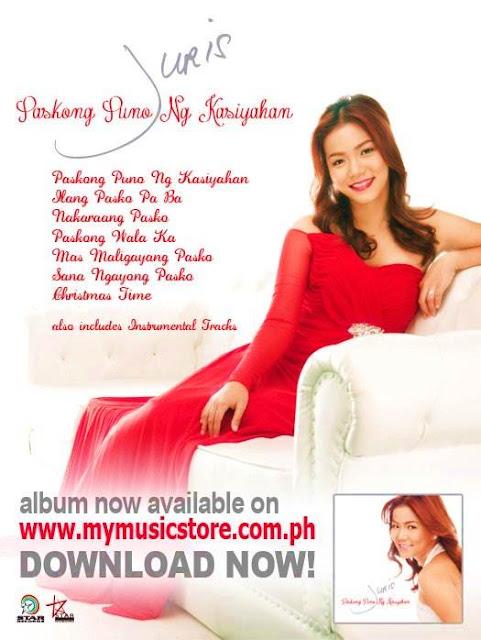 Juris Christmas Album 'Paskong Puno ng Kasiyahan'