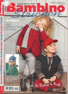 Burda Bambino Stricken Herbst/Winter 2009
