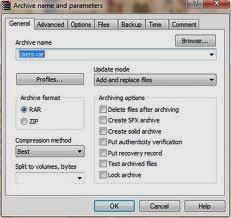 مميزات برنامج WinRAR 5.01 - 2014