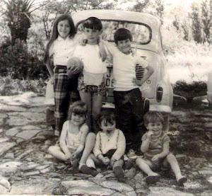 Marisa, Ramón, Diego, Maríangeles, Auxi y Antonio