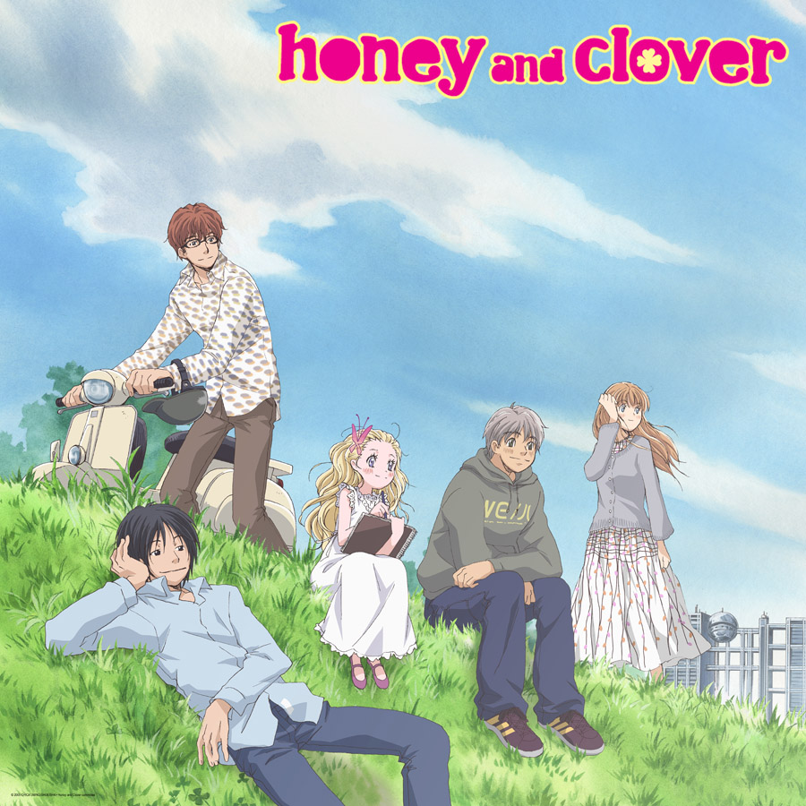 OTAKUGAKURE: Honey And Clover