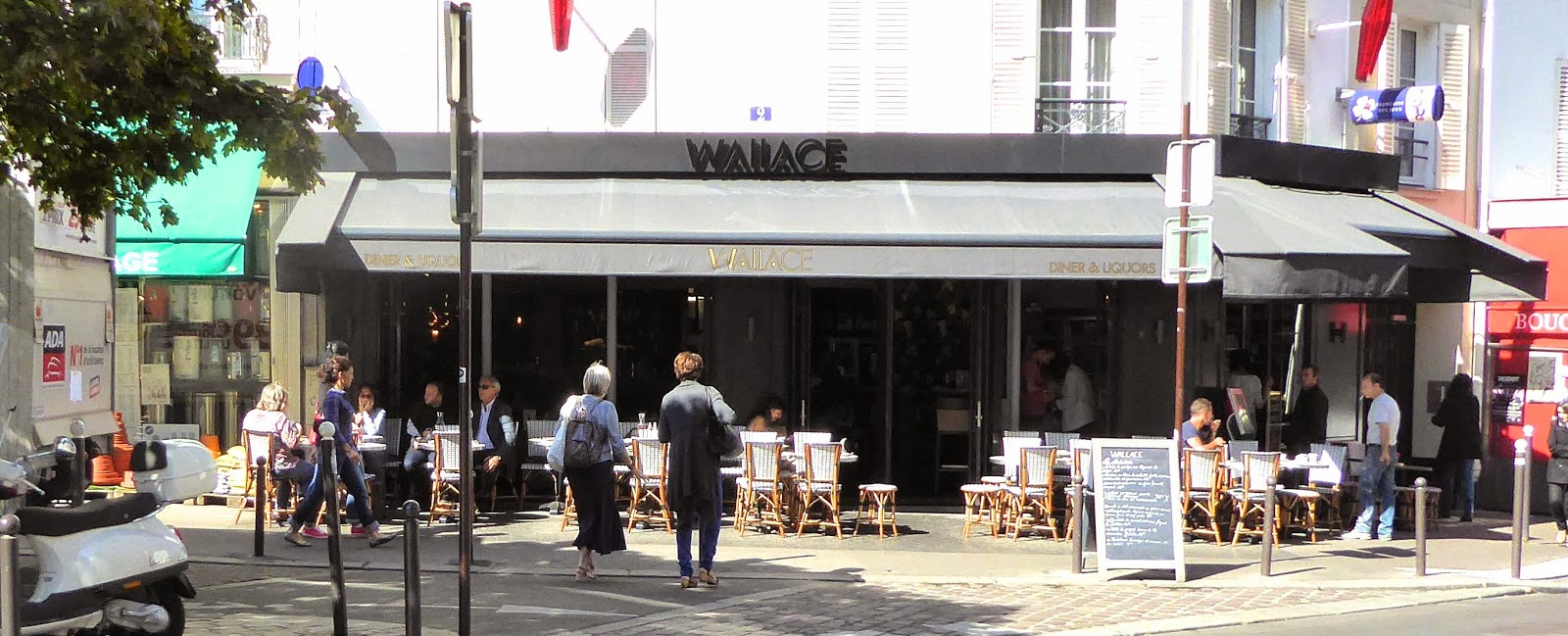 Paris Missives...: Wallace -- Restaurant Review