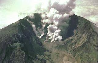 Las mayores erupciones volcánicas de la historia Monte+Tambora