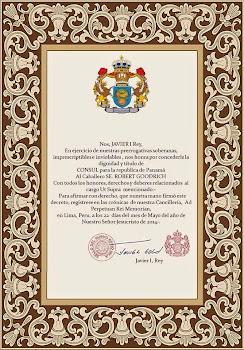 Nombramiento como Consul