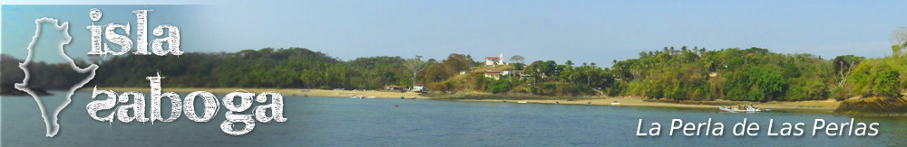 Isla Saboga : Archipiélago de Las Perlas, Panamá. An island in paradise
