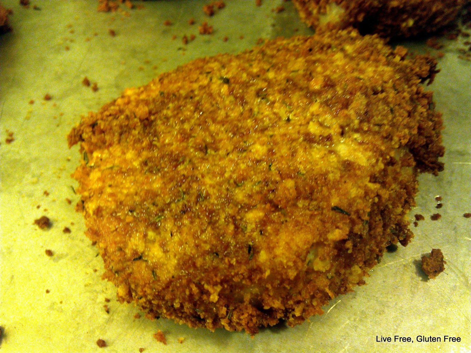Live Free, Gluten Free: Oven Fried Pork Chops