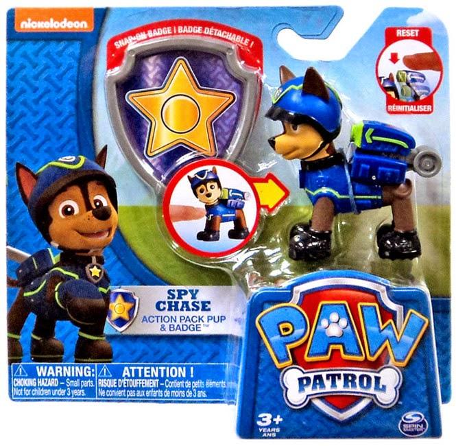 JUGUETES - Paw Patrol : La Patrulla Canina  Spy Chase | Espía | Figura - Muñeco  Toys | 2015 | Producto Oficial Serie Televisión | Nickelodeon  Spin Master | A partir de 3 años
