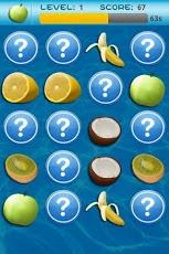 Fruit Memory gratis para android