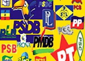 68 Partidos políticos tentam atrair eleitores no Brasil