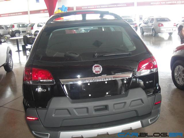 Fiat Palio Adventure 2013 - Dualogic Preta