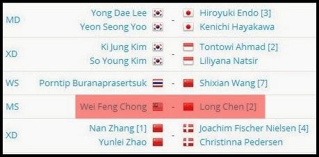JADUAL SEPARUH AKHIR SEMI FINAL TERBUKA CHINA 2013 HARI INI, TERBUKA CHINA BADMINTON JADUAL HARI INI