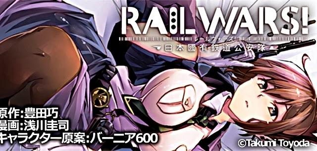 [ Info-Anime ] Rail Wars Resmi Disiarkan Musim Panas Tahun Ini