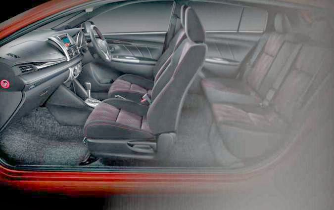 Desain Interior Toyota All New Yaris 2014