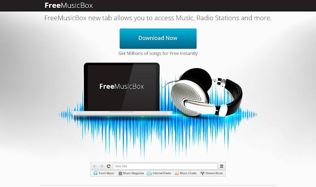 Musicboxnewtab.com o FreeMusicBox