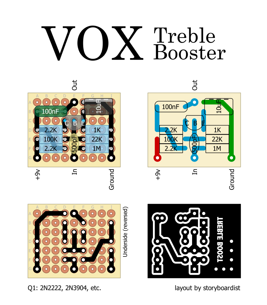 Vs Arduino Uno besides 42is69 also Switching Between Circuits Transistor Based Spdt as well Carbon Film Resistor likewise Vox Treble Booster. on pnp diagram