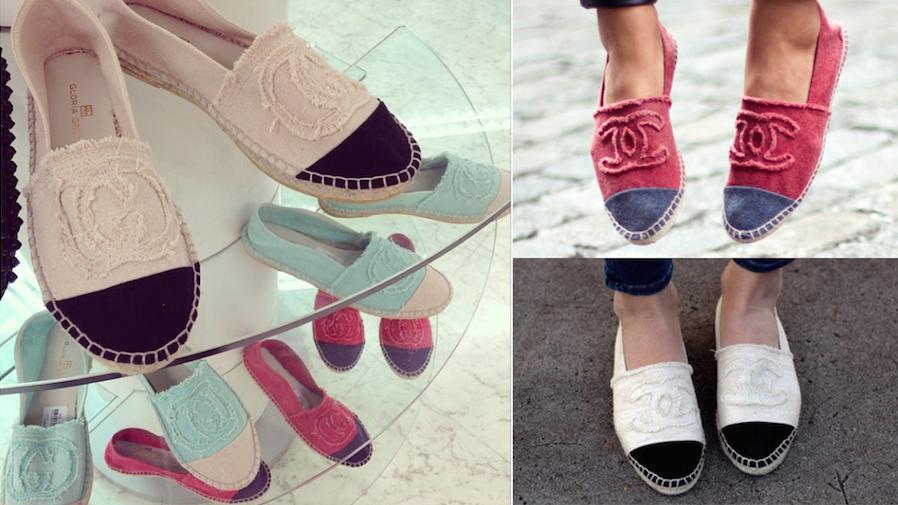 Las esparteñas de Chanel (que algunos llevan en pleno invierno) tan de moda en aquel verano de 2013 y que lo estarán también (supongo) este verano de 2014,