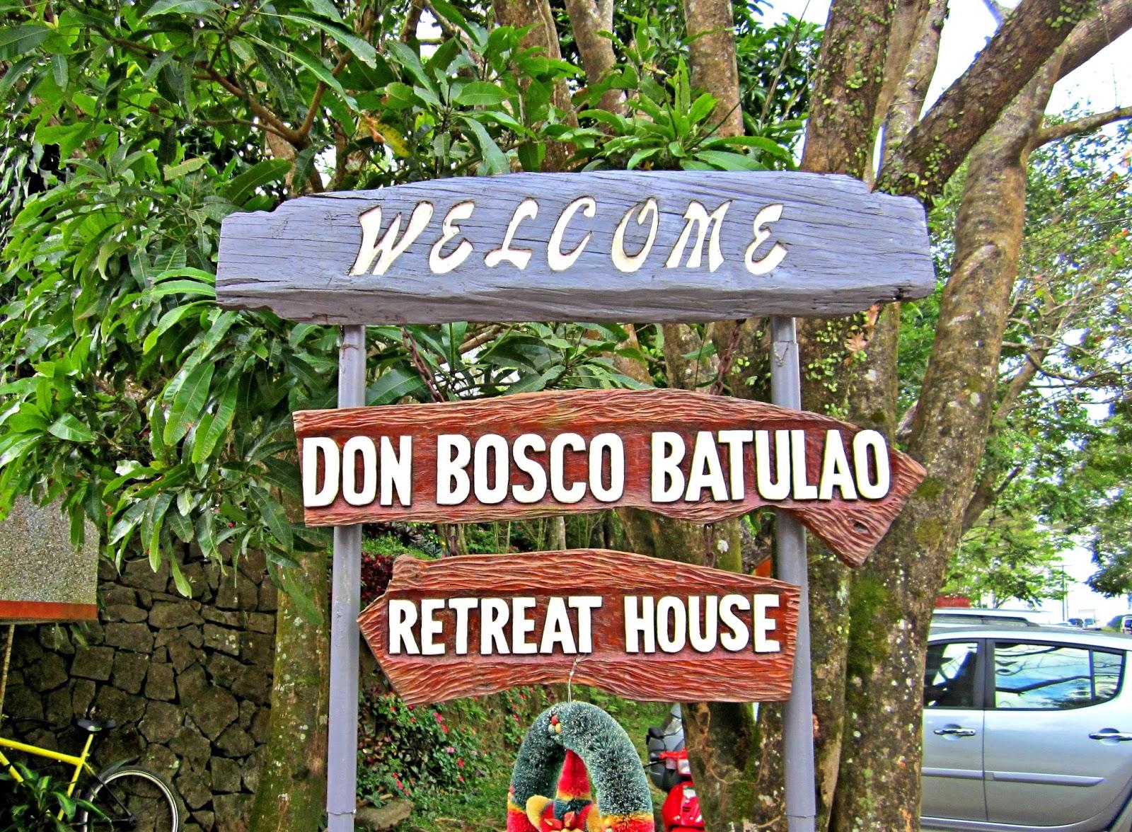 Road trips road trip caleruega don bosco retreat house for Retreat house