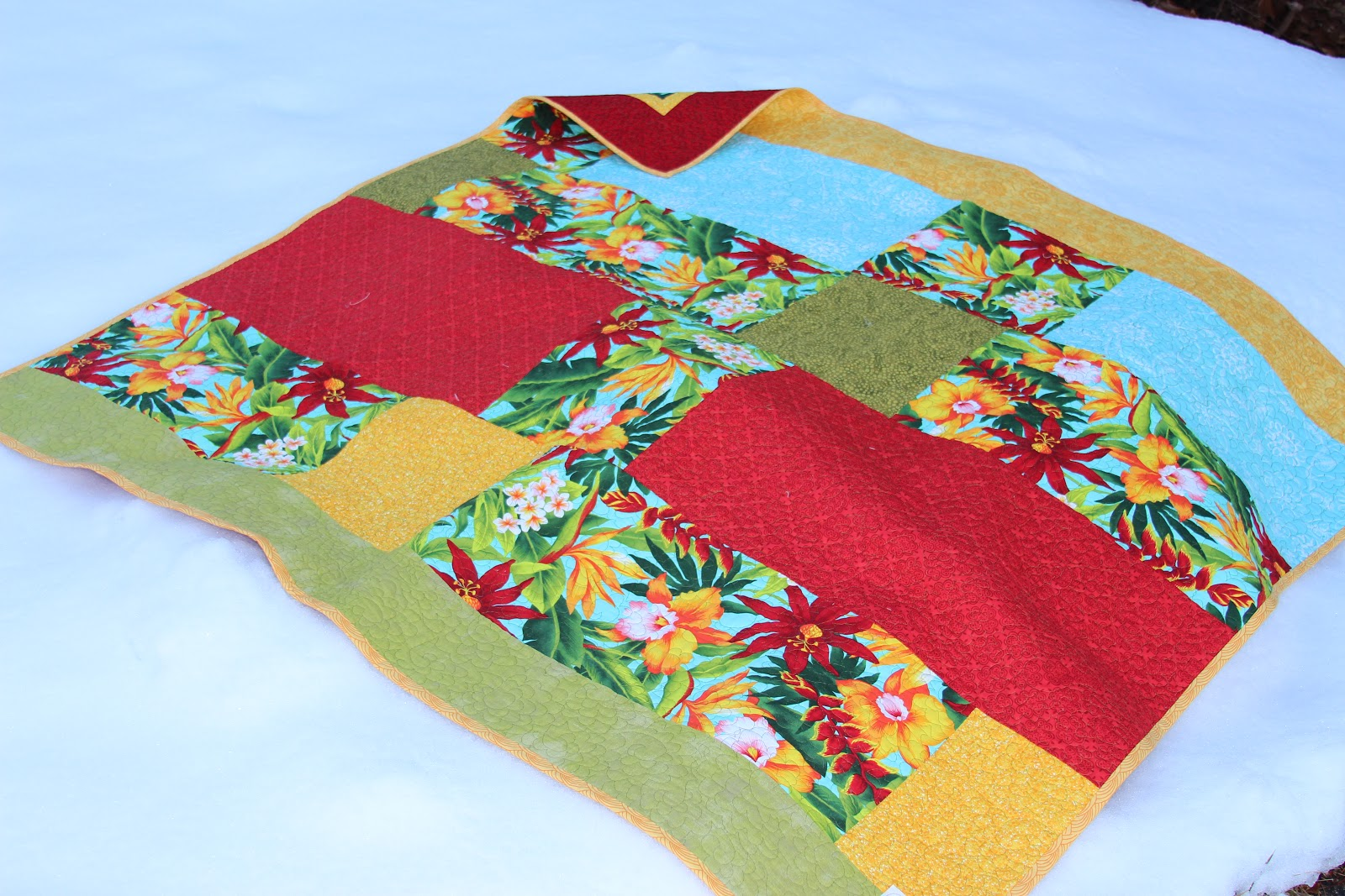 A Quilting Jewel Tropical Delight