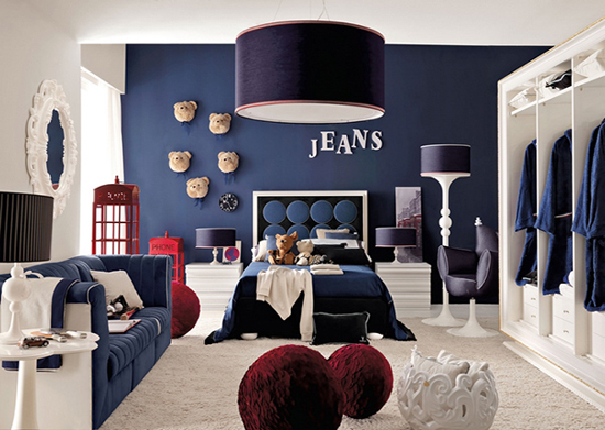 Boy & Girls Modern Bedroom Design - Home Interior House Interior