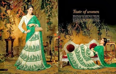 Ever Green Festival Sarees Designs