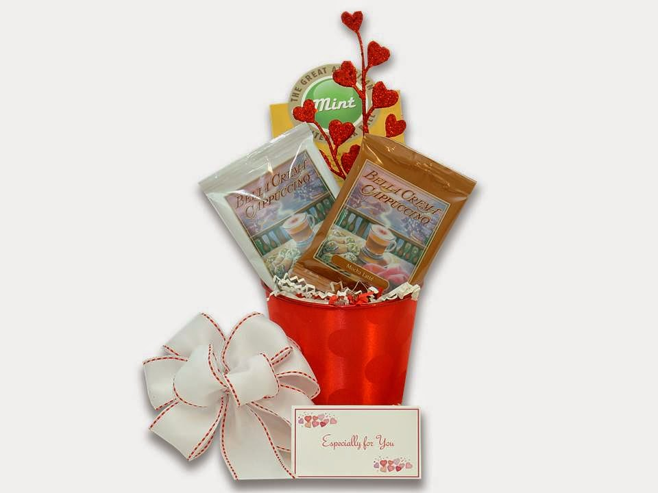 A Treat for Valentine Gift Basket