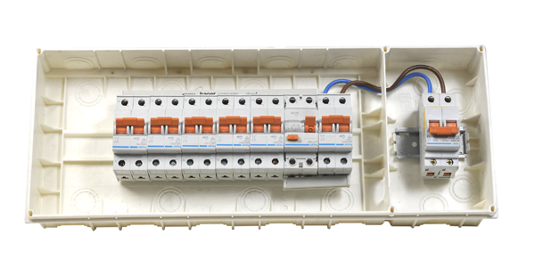 Locura el ctrica inicio for Caja cuadro electrico