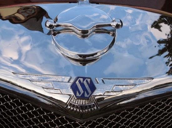 Modelo SS 100 de Swallow Sidecar Company