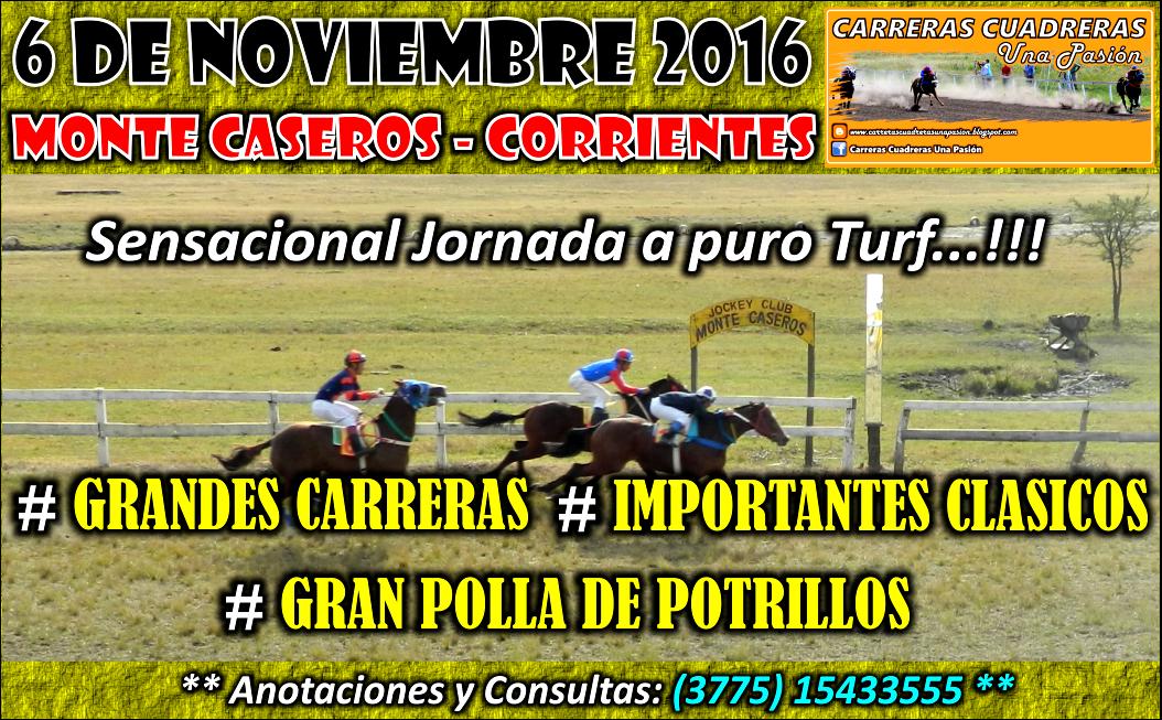 MONTE CASEROS - 06.11.2016