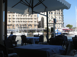Borgo Marinara is renowned for fish restaurants