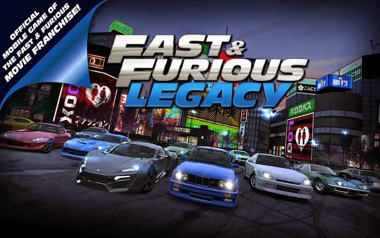 Fast & Furious: Legacy, Hadirkan Balapan Super Keren di Android