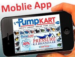 Download Mobile App for Pumpkart