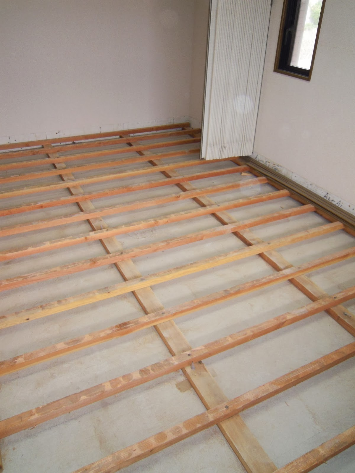 床張替え フローリング張替え リフォーム 浜松建設 島根県