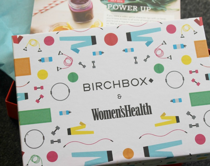 Birchbox July 2014 Review & Unboxing Women's Health Magazine