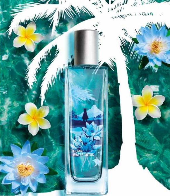 Preview: Nuova Linea Fijian Water Lotus The Body Shop