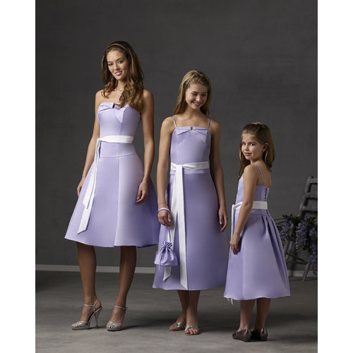 Sweet Junior Bridesmaid Dress