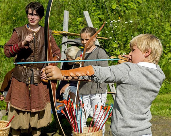 Norwegian Royals Attended The Saint Olav Festival 2015